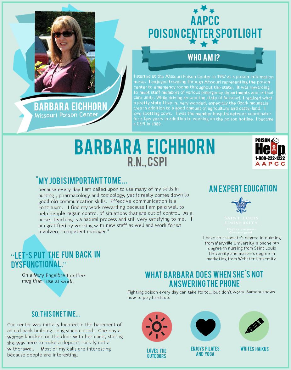 Barb Eichhorn Spotlight